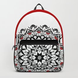 Mushroom Mandala Backpack