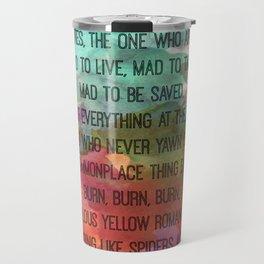 Kerouac Watercolour: Travel Mug