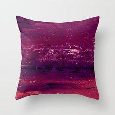 purple atmosphere Throw Pillow