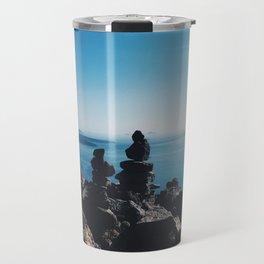 Santorini rocks Travel Mug