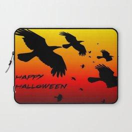 Happy Halloween Murder of Crows  Laptop Sleeve