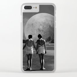 First Steps Clear iPhone Case