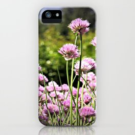 Chives & Bokeh iPhone Case
