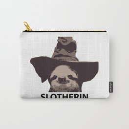 Slotherin (Slytherin + Sloth) Carry-All Pouch