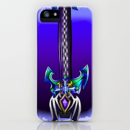 Fusion Keyblade Guitar #157 - Oblivion & Diamond Dust iPhone Case