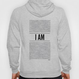 I AM ( Identity series)  Hoody