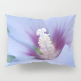 Soft Purple Hibiscus Flower #1 #art #society6 Pillow Sham