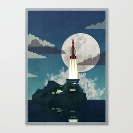 Tracy Island Canvas Print