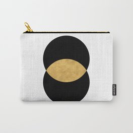 VESICA PISCES CIRCLE ABSTRACT GEOMETRIC SYMBOL Carry-All Pouch