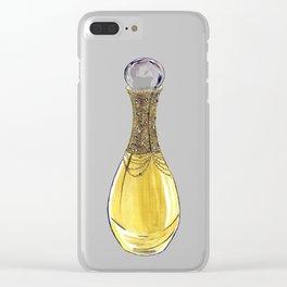 J'adore L'or Clear iPhone Case