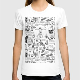 Da Vinci's Anatomy Sketchbook T-shirt