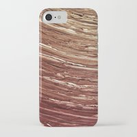 tree rings iPhone & iPod Cases featuring Rings by Kathy Dewar