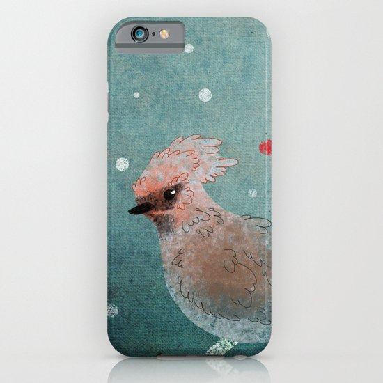 Tweet in the Snow iPhone & iPod Case