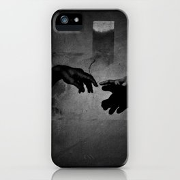 Silhouette merger iPhone Case