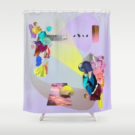 Fosforescente0.1 Shower Curtain