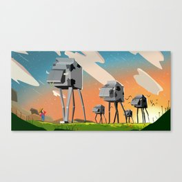 Milkwars  Canvas Print