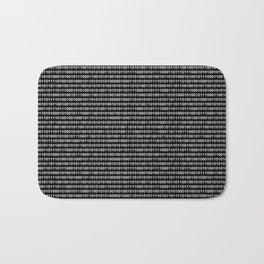 Binary Code in DOS Bath Mat
