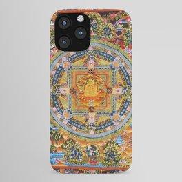 Mandala Buddhist 2 iPhone Case