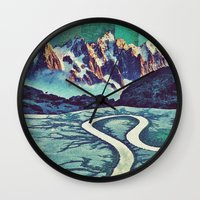 surreal Wall Clocks featuring Surreal by Caroline A