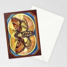 Deaths Head Moth Stationery Cards