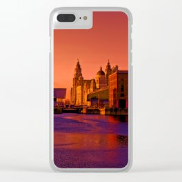 Albert Dock And the Pier Head Clear iPhone Case
