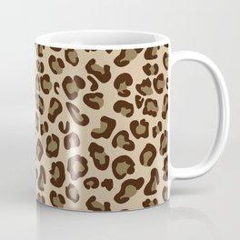 Leopard-Beige+Brown Coffee Mug