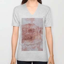 WHAT CAUGHT MY EYE WAS THE CONTRADICTION OF THE COLOR AND THE CONDITION OF THE WALL. Unisex V-Neck