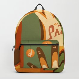 Paz This is the Gift Backpack