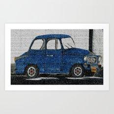 Cuba Car Art Print