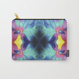Trippy Flower Carry-All Pouch