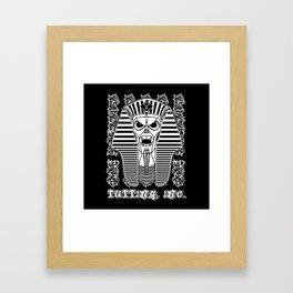 Tutting, Inc. Pharaohtron Burner Framed Art Print