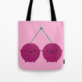 Kawaii Cherries Tote Bag