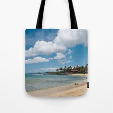 Poipu beach Tote Bag