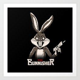 The Bunnisher Art Print