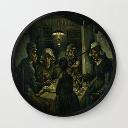 Vincent van Gogh's The Potato Eaters Wall Clock