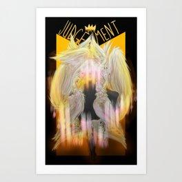 Judgement Tarot Art Print