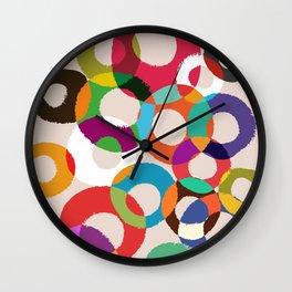 Loop Hoop Wall Clock