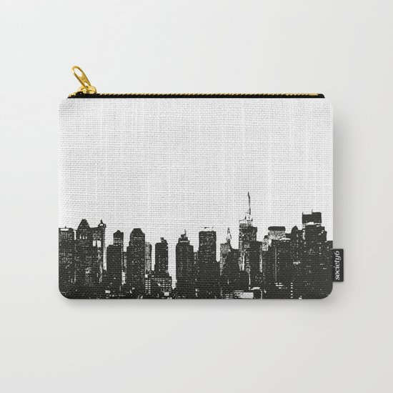 New York black and white high quality art print Carry-All Pouch