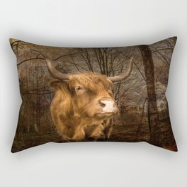 Highland Toffee Coo Rectangular Pillow