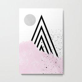 soft mountain Metal Print