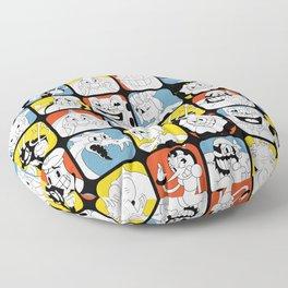 Cuphead - Bosses Floor Pillow