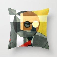 Rudolf Carnap Throw Pillow