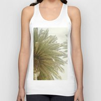 palm trees Tank Tops featuring Palm Trees by The ShutterbugEye