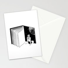Reading is Dreaming with Your Eyes Open Stationery Cards