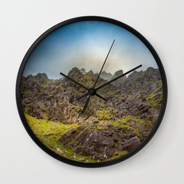 Lost in mountains Carrantouhill | Ireland Wall Clock