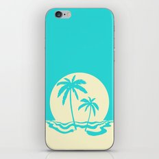 Calm Palm iPhone & iPod Skin