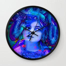 Crystal Cave Wall Clock