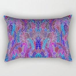 Botanical in purple Rectangular Pillow