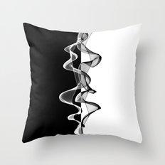 Black and White - 3 Throw Pillow