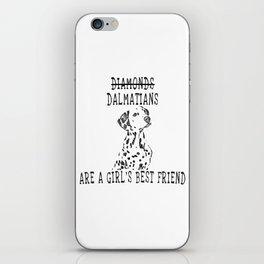 Cute Dalmatian Dog iPhone Skin